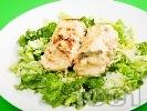 Рецепта Печени рибни рулца от мерлуза на фурна